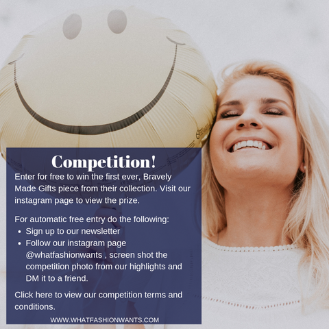 How to Enter Our Competition - WhatFashionWants