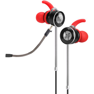 Casti in-ear HP DHE-7004 red