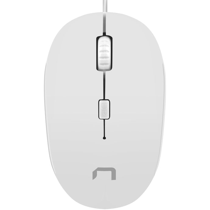 Mouse Natec Sparrow white