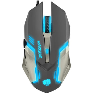 Mouse gaming, FURY Warrior, 3200 dpi, negru-argintiu
