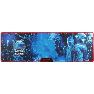 Mousepad Gaming, MARVO G35 Battle Royale, marimea XL, albastru