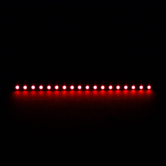 Bara cu LED-uri Nanoxia Rigid LED 20 cm (red)