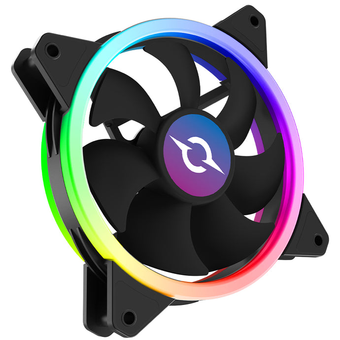 Ventilator 120 mm AQIRYS Cetus 6P-12DL16-RGB