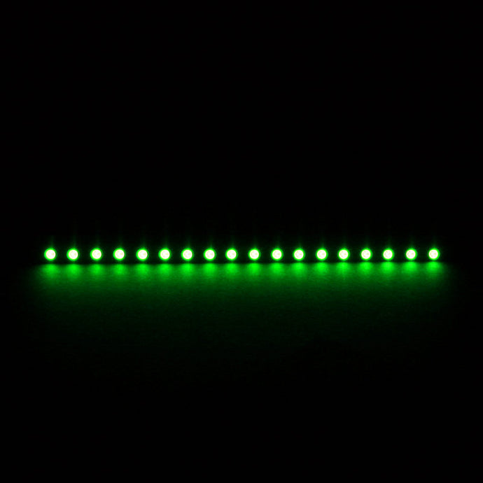 Bara cu LED-uri Nanoxia Rigid LED 20 cm (green)