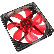 Ventilator Cooltek 120mm Silent Fan 120 Red LED