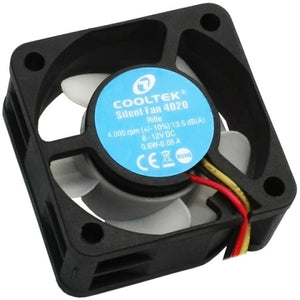 Ventilator Cooltek 40mm Silent Fan 4020