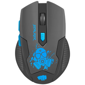 Mouse gaming wireless, FURY Stalker, 2000 dpi, negru-albastru