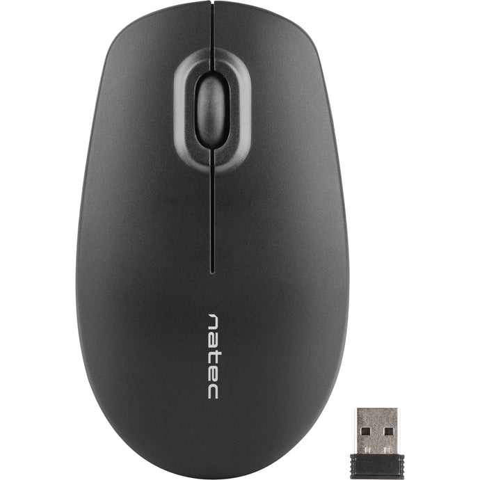 Mouse wireless Natec Merlin black