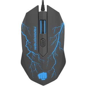 Gaming Combo Set 4 in 1 Fury Thunderstreak 2.0 (tastatura, casti, mouse, mousepad)