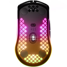 Mouse gaming, SteelSeries Aerox 3 Wireless, 18.000 dpi, autonomie 200 ore, bluetooth 5.0, Quantum 2.0 Dual Wireless, protectie AquaBarrier