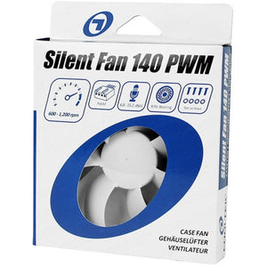 Ventilator Cooltek 140mm Silent Fan 140 PWM