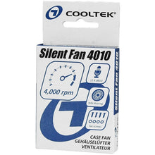 Ventilator Cooltek 40mm Silent Fan 4010