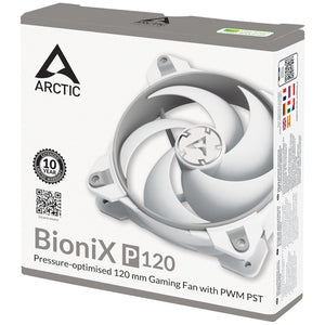 Ventilator 120 mm Arctic BioniX P120 Grey-White