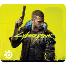 Mousepad gaming, SteelSeries QcK Large Cyberpunk 2077, 450 x 400 x 2 mm