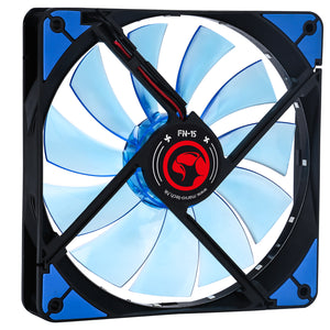 Ventilator 140 mm Marvo FN-15 blue LED | Matiado.ro
