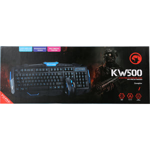 Kit wireless tastatura si mouse Marvo KW500