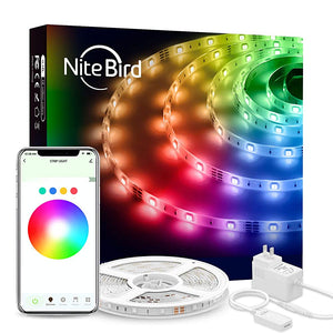 Banda LED Smart WiFi USB, Gosund NiteBird, Smart Life APP | Matiado.ro
