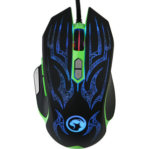 Mouse Marvo G920 green | Matiado.ro