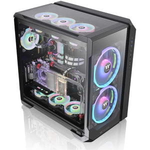 Carcasa Thermaltake View 51 Tempered Glass ARGB Edition neagra