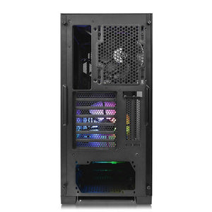Carcasa Thermaltake Commander G31 Tempered Glass neagra iluminare aRGB
