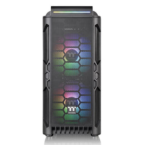 Carcasa Thermaltake Level 20 RS Tempered Glass neagra iluminare aRGB