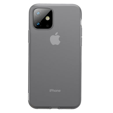 Husa Baseus Liquid Silica Gel Protective pentru iPhone 11, Clear Black