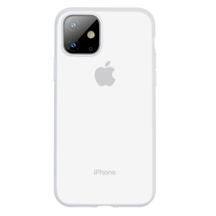 Husa Baseus Liquid Silica Gel Protective pentru iPhone 11, Clear White