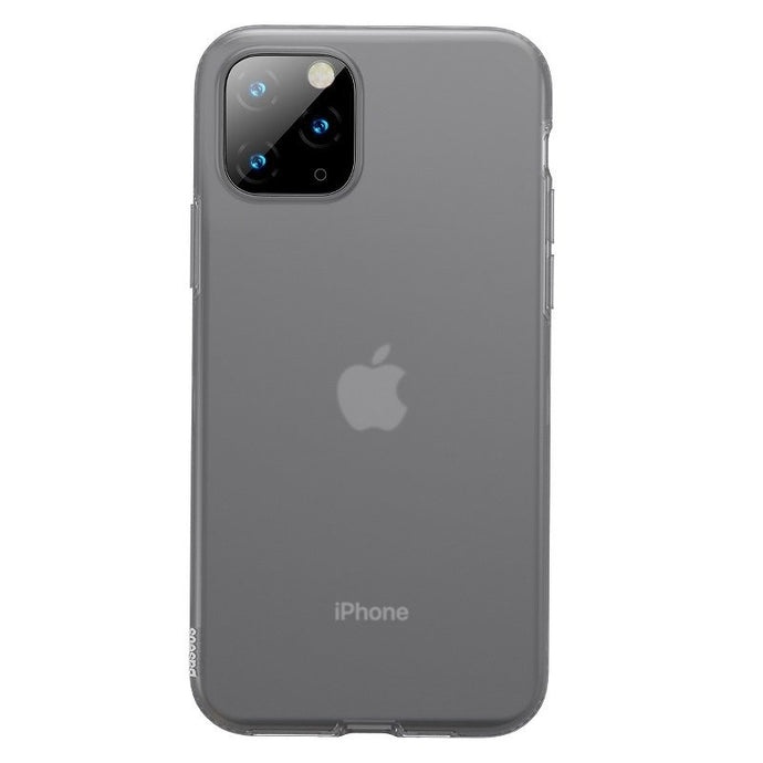 Husa Baseus Liquid Silica Gel Protective pentru iPhone 11 Pro, Clear Black