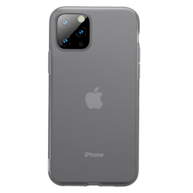 Husa Baseus Liquid Silica Gel Protective pentru iPhone 11 Pro Max, Clear Black