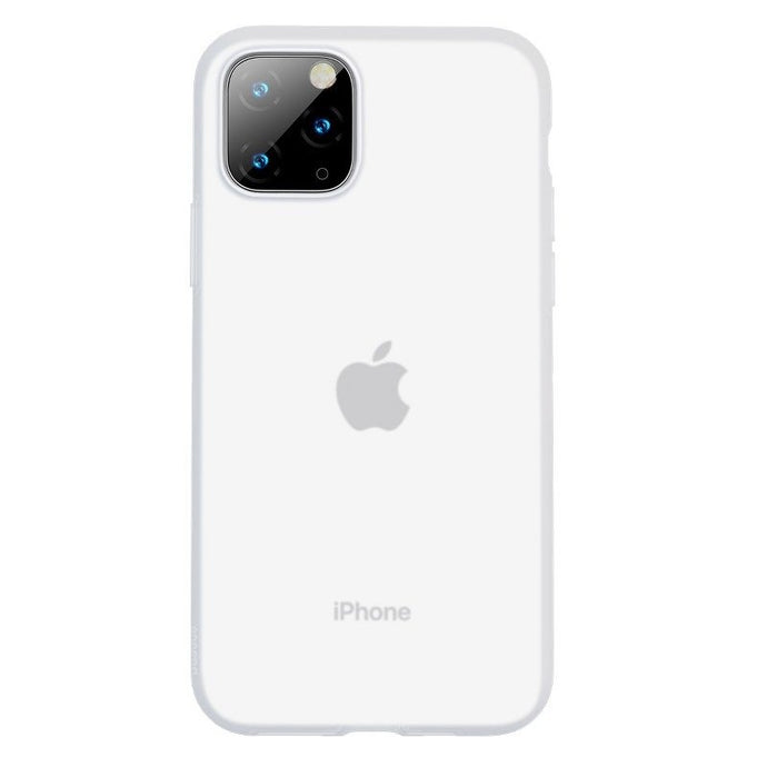 Husa Baseus Liquid Silica Gel Protective pentru iPhone 11 Pro Max, Clear White