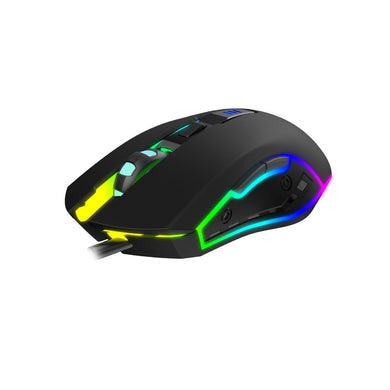 Mouse gaming RGB, Havit GAMENOTE MS1018, 1000-3200 DPI, cablu 1.5m USB