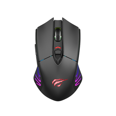 Mouse wireless gaming RGB, Havit GAMENOTE MS1021W, 800-7000 DPI, senzor PMW3325, USB + 2,4G