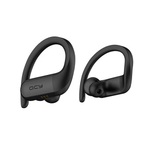 Casti sport, QCY T6, TWS, Wireless, Negre, Waterproof, 8.2g, bluetooth 5.0 | Matiado.ro