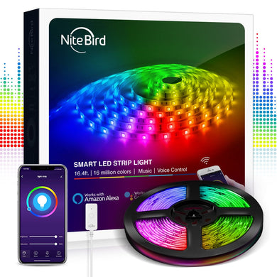 Banda LED Smart WiFi USB, Gosund NiteBird, Smart Life APP
