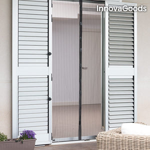 Perdea impotriva insectelor, inchidere magnetica, InnovaGoods Home Pest, 209 x 99 cm