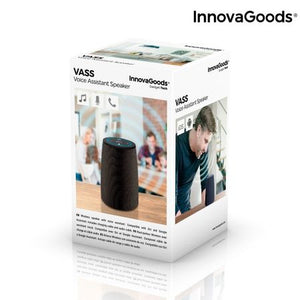 Boxa inteligenta, InnovaGoods Voice Assistant, bluetooth, iOS si Android, 10 W