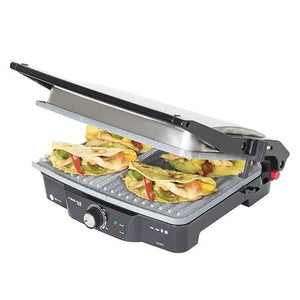 Grill 2 in 1, Rock'nGrill, Cecotec 3025, 2000 W