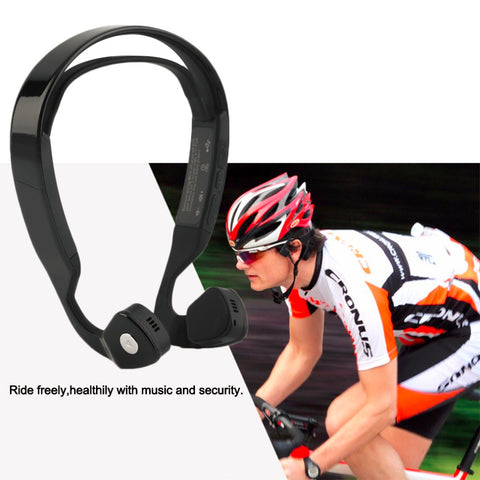 Bone Conduction Bluetooth 4.0 Wireless Stereo Headset Sports Headphone hot sale
