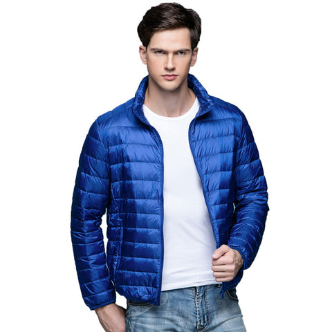 Affordable Men's Stylish Ultra Light Winter Jacket