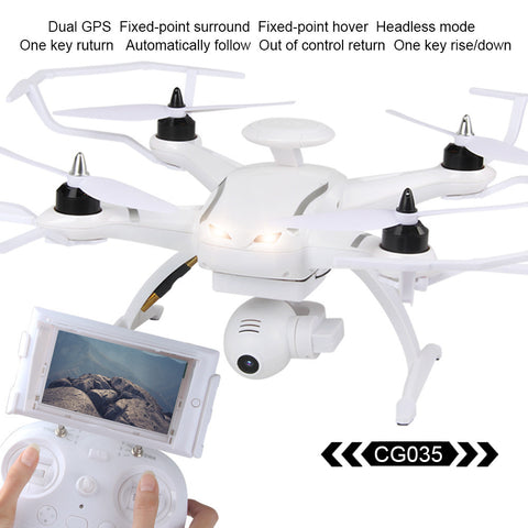 Mini Drone Brushless Double GPS 5.8G Gimbal Camera Quadcopter Drone RC helicopter