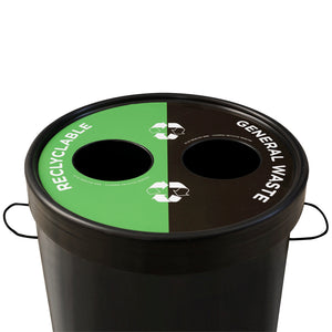 Ecocylinder 2-waste Recycle Bin