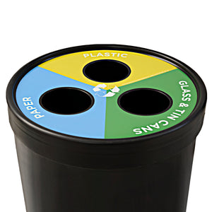 Ecocylinder 3-waste Recycle Bin