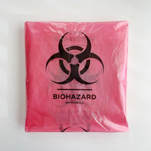 Red BioHazard Plastic Bags