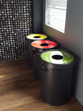 Ecocylinder 1-waste Recycle Bin
