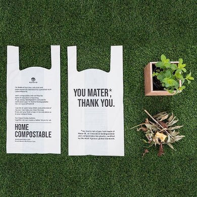 You Mater Compostable Carrier bags (100 pces)