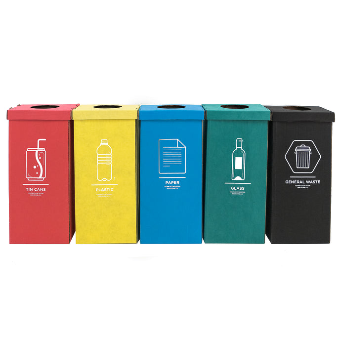 Fabric-Coated Cardboard Bins