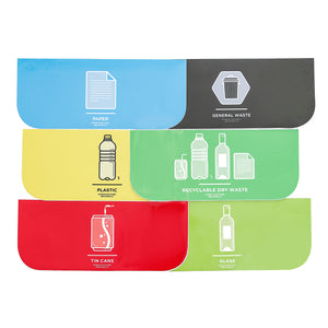 Recycling Labels - Rectangular