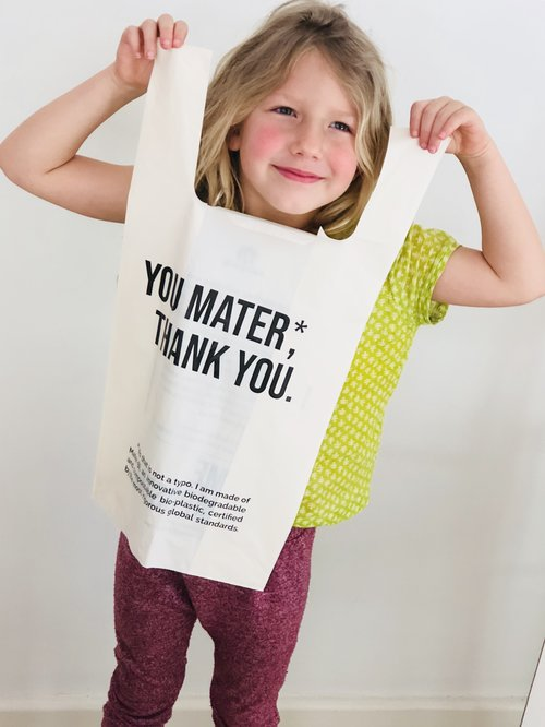 You Mater Compostable Shopping bags