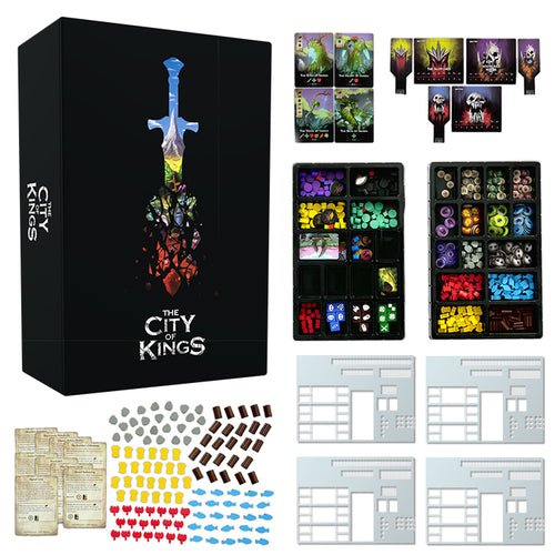 The City of Kings Deluxe (first print - damaged box)