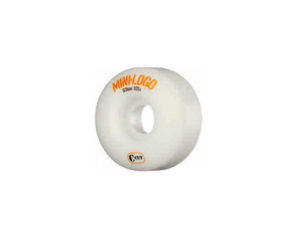 Mini Logo - Wheels C-Cut 101A - 53mm - Stuntwood